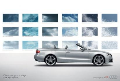 Реклама автомобиля Audi TT