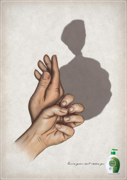 Реклама средства для мытья рук