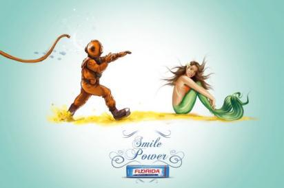 Реклама жевачек