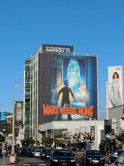 Билборд Тайна красной планеты 3D