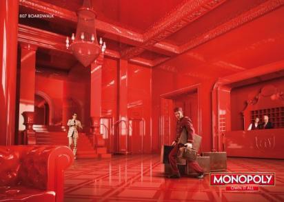 Реклама игры Monopoly
