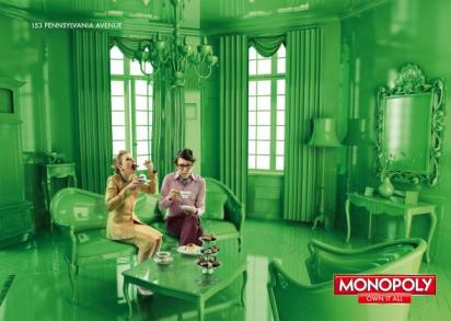 Реклама игры Монополия