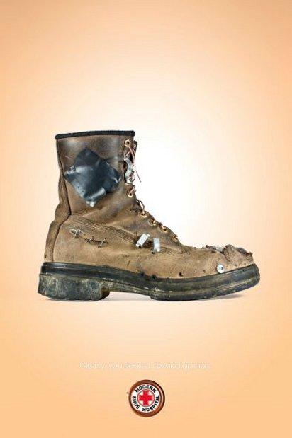 Реклама ремонта обуви