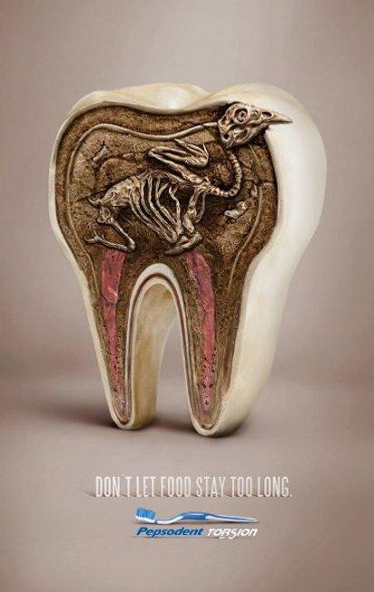 Реклама щётки для зубов
