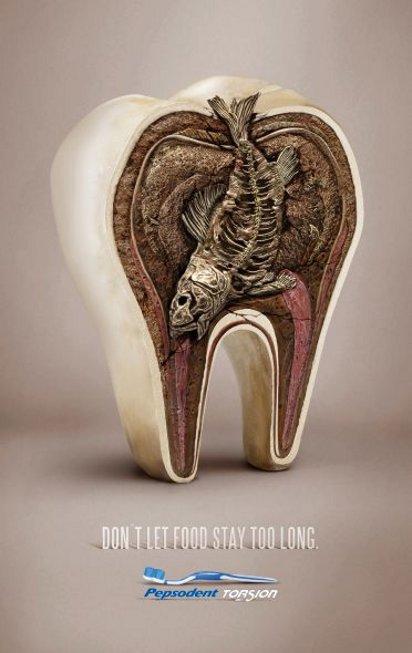 Реклама зубной щётки