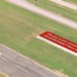 Креативная #reklama №1k255 — Реклама Virgin Atlantic в аэропорте