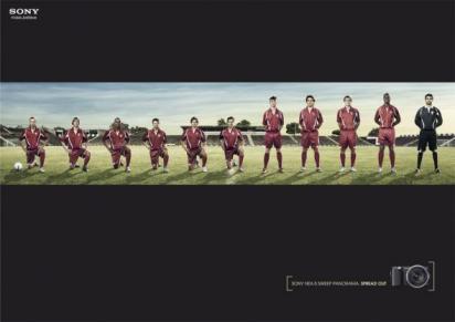 Реклама фотоаппарата Sony