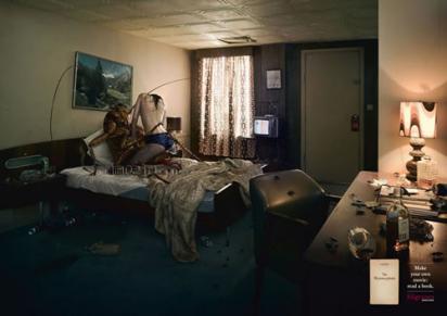 Книга «Превращение» Франца Кафки в рекламе