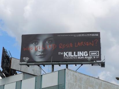 """Билборд """"Кто убил Рози Ларсон?"""""""