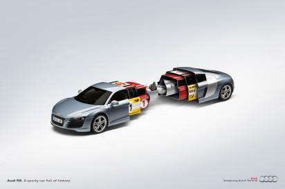 Реклама Audi R8