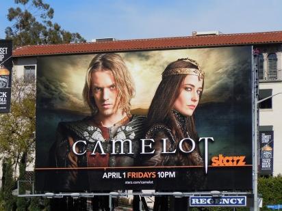 Рекламный щит Camelot