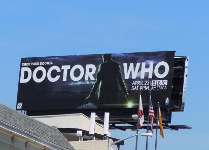 Реклама Doctor Who