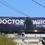 Креативная #reklama №1k448 — Билборд шестого сезона сериала «Доктор Кто»