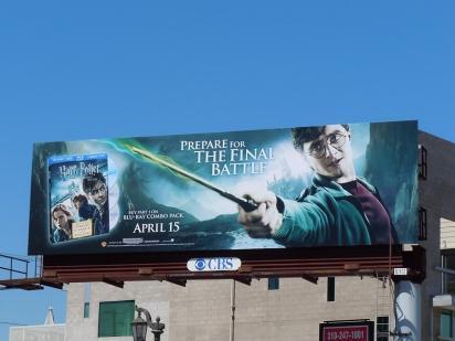 Гарри Поттер и Дары смерти Билборд