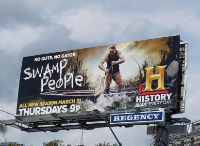 Билборд от канала History Channel