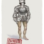 Креативная #reklama №1k531 — Подушки безопасности Mitsubishi для нижней части тела: Защита наполовину — не защита