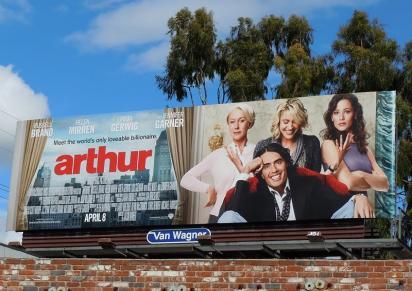 Реклама фильма Артур, идеальный миллионер