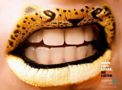 Губы-леопарды