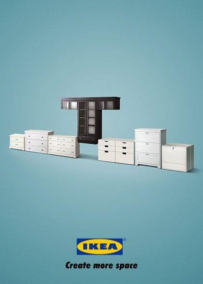Реклама мебели IKEA