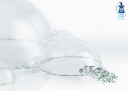 Реклама обеззараживающего геля Carex