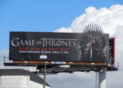Ещё один билборд Game of Thrones