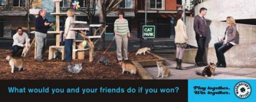 Интересная реклама лотереи