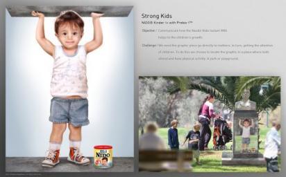 Реклама Nestlé NIDO