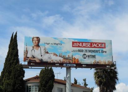 Наружная реклама телесериала