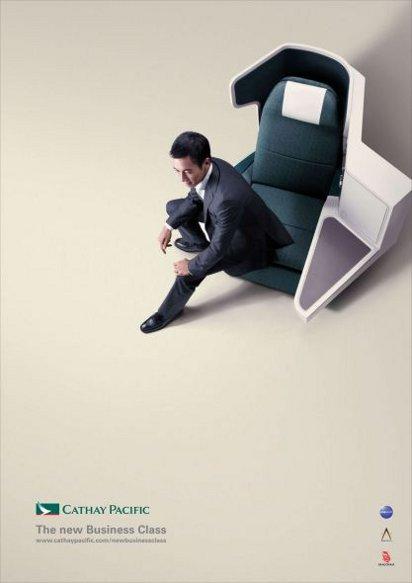 Реклама Cathay Pacific
