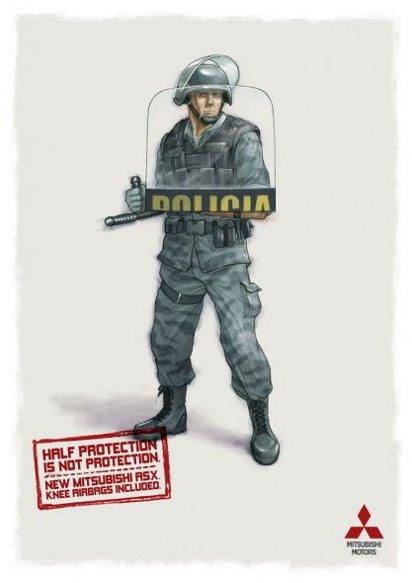 Реклама подушек безопасности