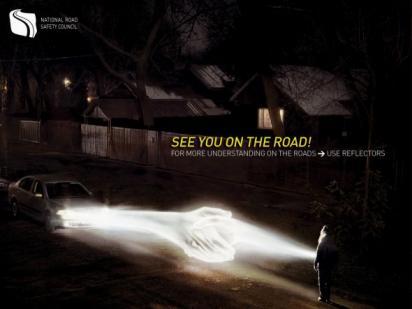 Реклама от польской дорожной полиции