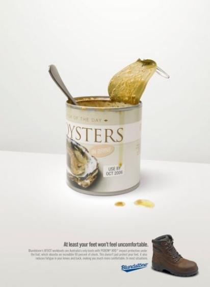 Креативная реклама обуви Blundstone