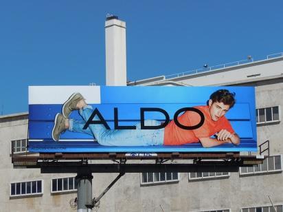 Рекламный щит ALDO