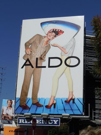 Креативный билборд ALDO