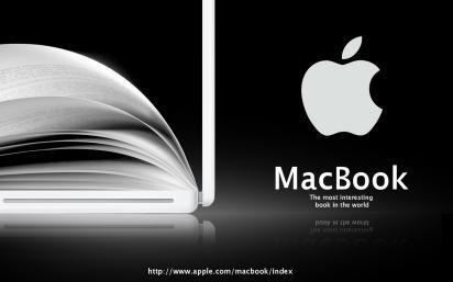 Реклама ноутбука Apple Macbook