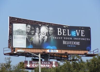 Реклама водки Belvedere