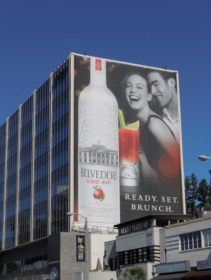 Билборды с рекламой водки