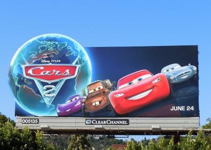 Билборд Cars 2