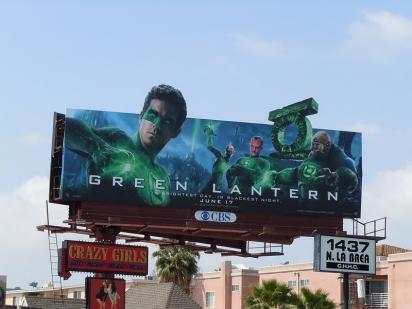 Зелёный билборд