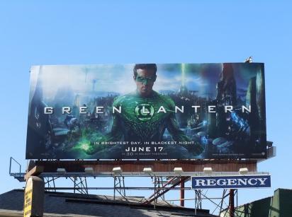 Новый билборд фильма Green Lantern