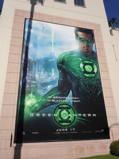 Билборд фильма Green Lantern