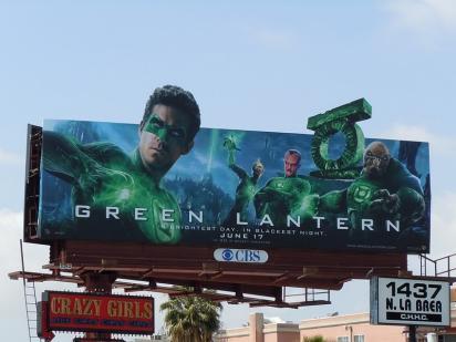 Реклама фильма Зелёный фонарь