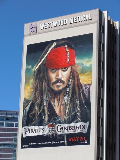 Билборд фильма Пираты Карибского Моря