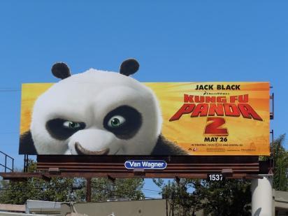 Реклама Кунг-фу Панда 2