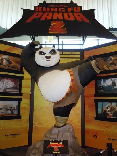 Крутой билборд Кунг-фу Панда 2
