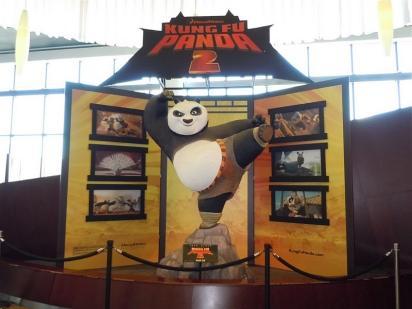 Креативная реклама Кунг-фу Панда 2