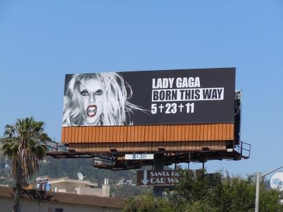 Билборд с Леди Гага
