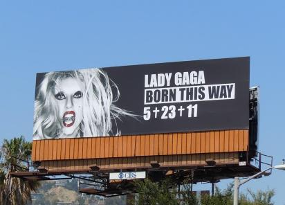 Билборд Lady Gaga