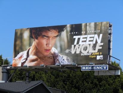 Рекламный щит Teen Wolf