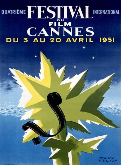 Винтажная реклама Каннского фестиваля